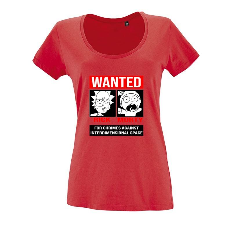 Wanted O nyakú női póló