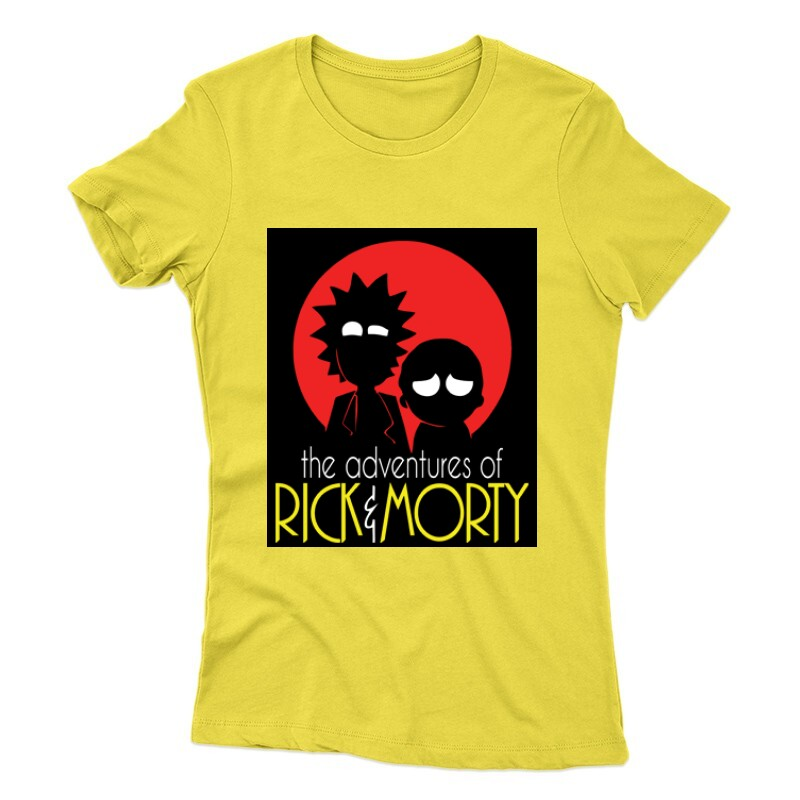 Rick Morty Női póló