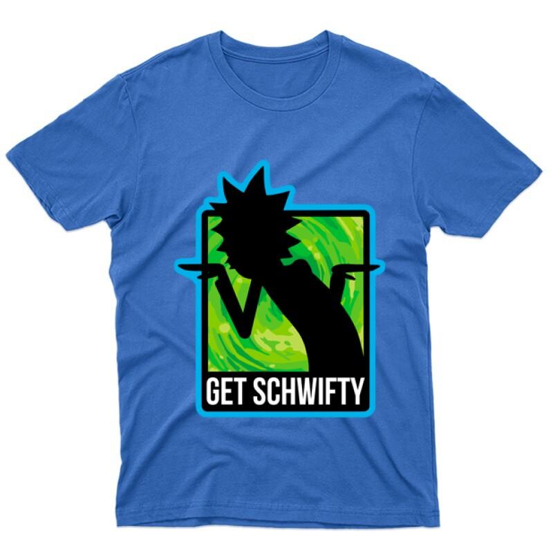 Get schwifty Férfi póló