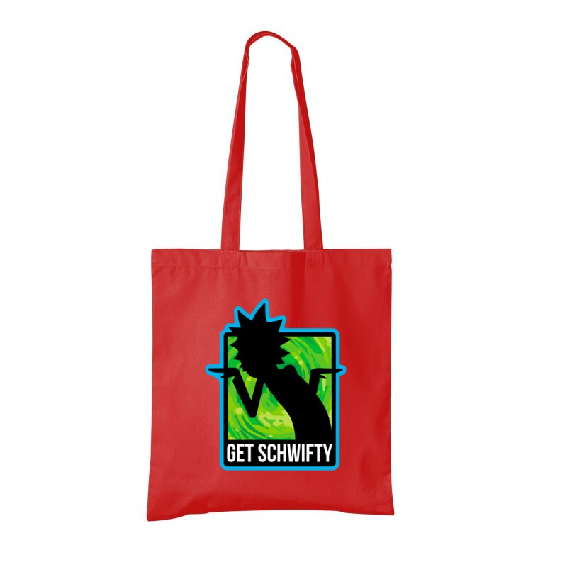 Get schwifty Bevásárló táska