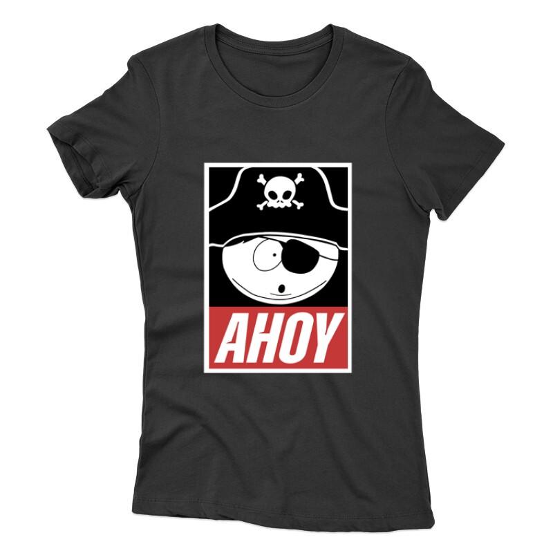 Rick Morty Ahoy Női póló