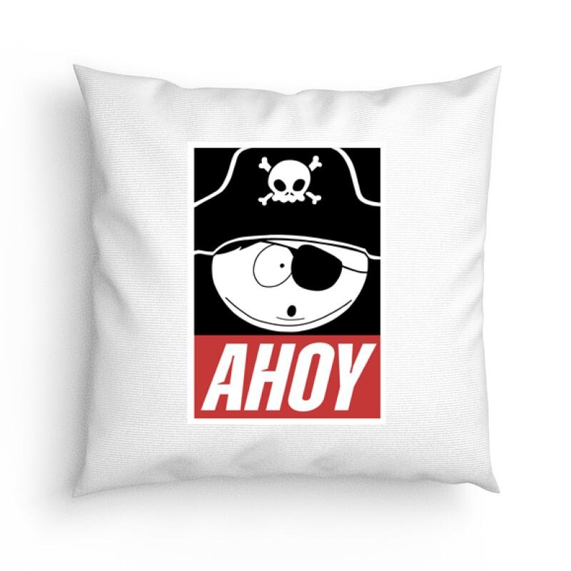 Rick Morty Ahoy Párna