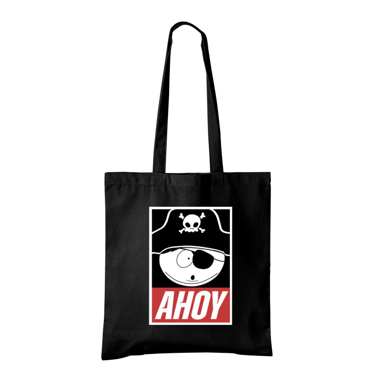 Rick Morty Ahoy Bevásárló táska