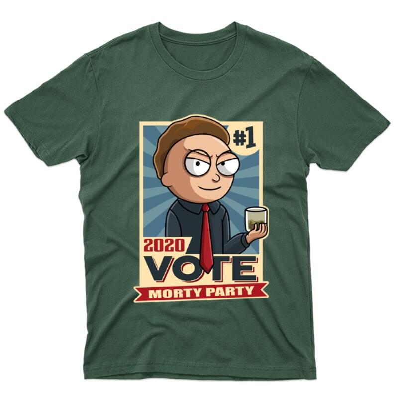 Vote Morty Férfi póló