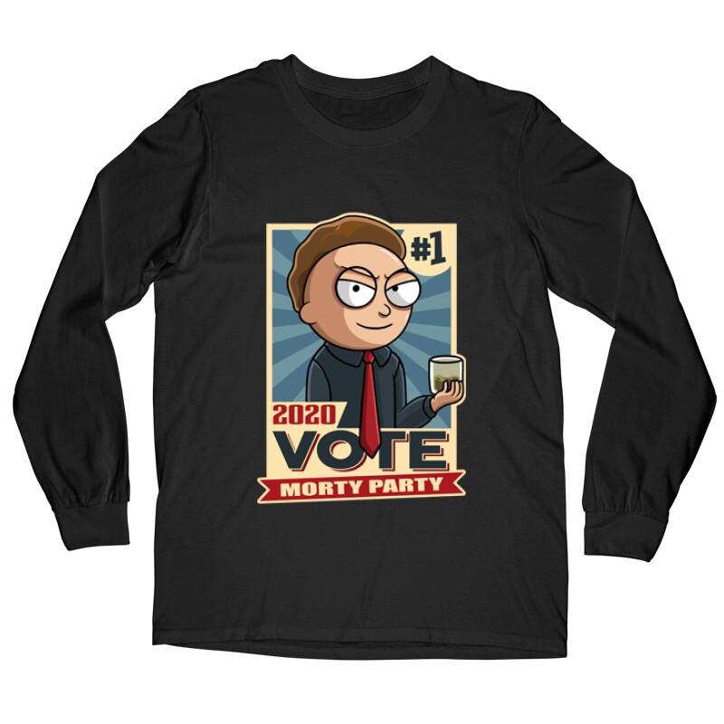 Vote Morty Hosszú ujjú póló