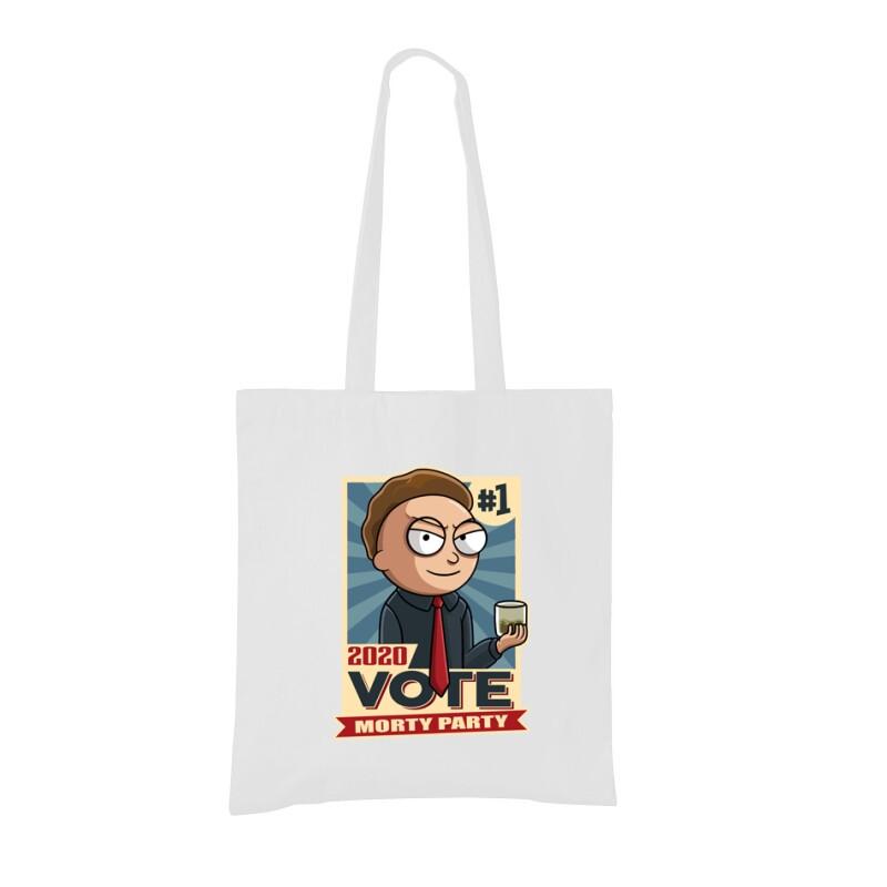 Vote Morty Bevásárló táska