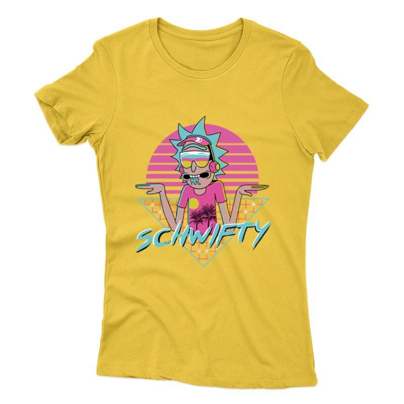 Schwifty Neon Női póló