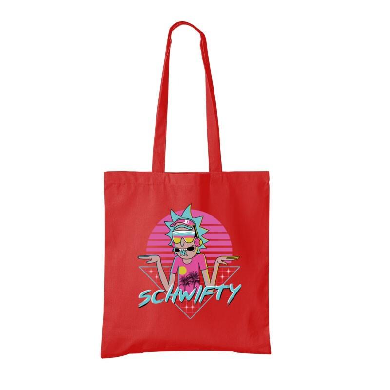 Schwifty Neon Bevásárló táska