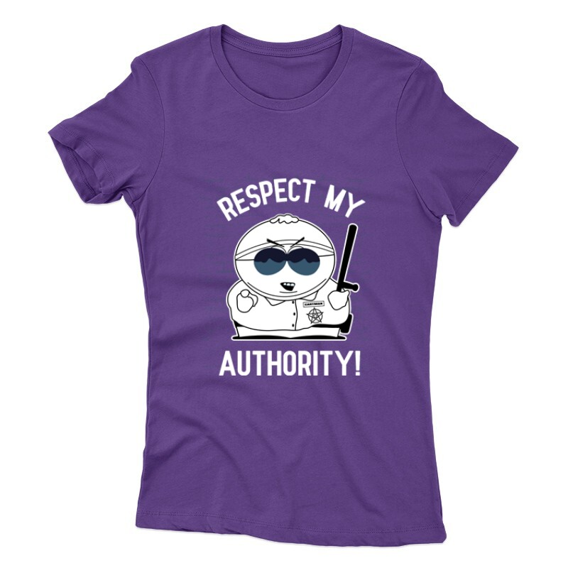 Respect My authority 2 Női póló