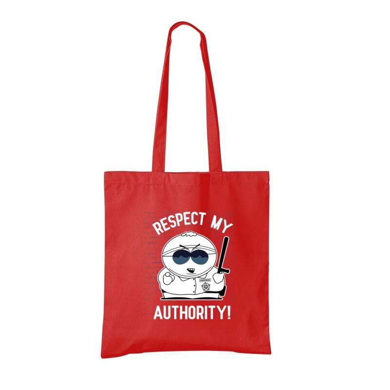 Respect My authority 2 Bevásárló táska