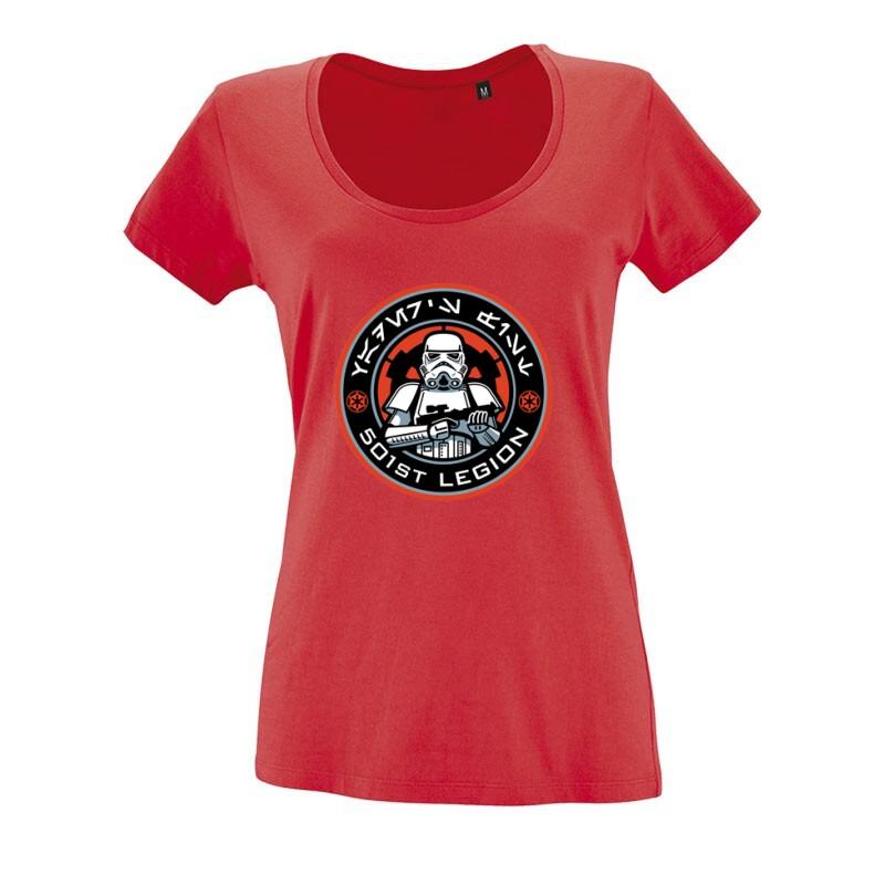 501 Legion O nyakú női póló
