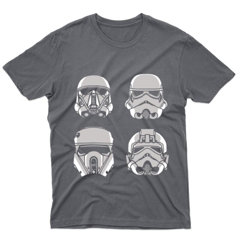4 Troopers Férfi póló