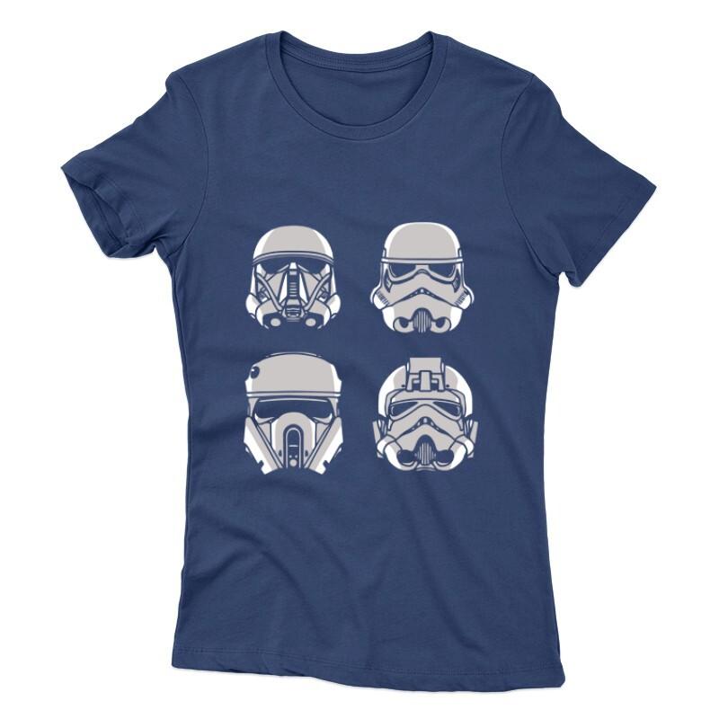 4 Troopers Női póló
