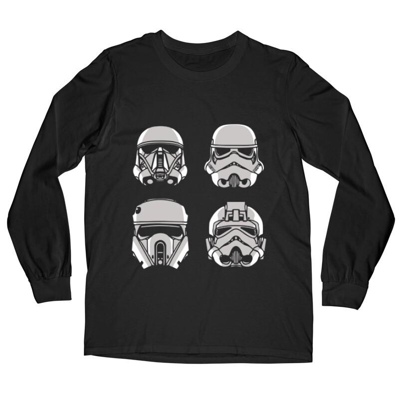 4 Troopers Hosszú ujjú póló