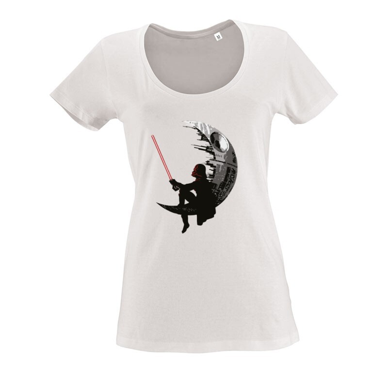 Deathstar Vader O nyakú női póló