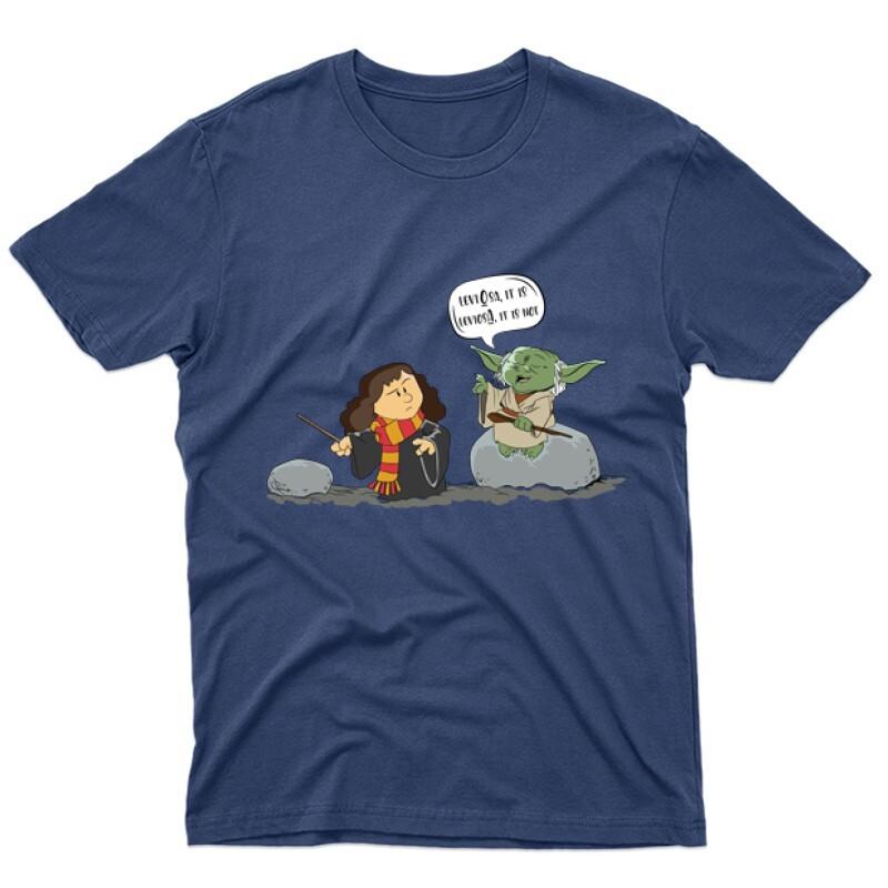 Leviosa Yoda Férfi póló