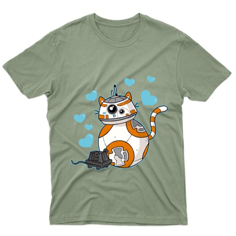 Love Robot Férfi póló