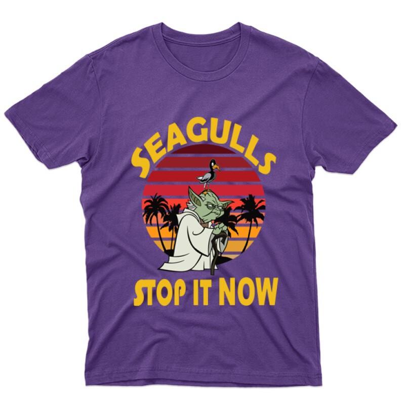 Seagulls Stop  It Now Férfi póló