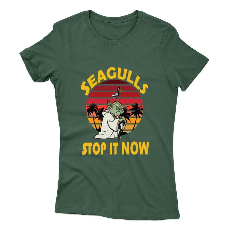 Seagulls Stop  It Now Női póló