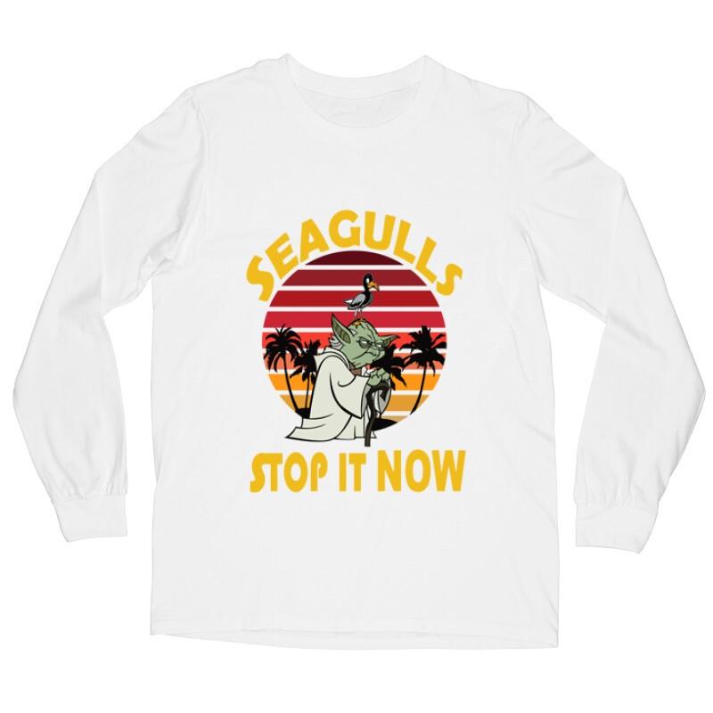 Seagulls Stop  It Now Hosszú ujjú póló
