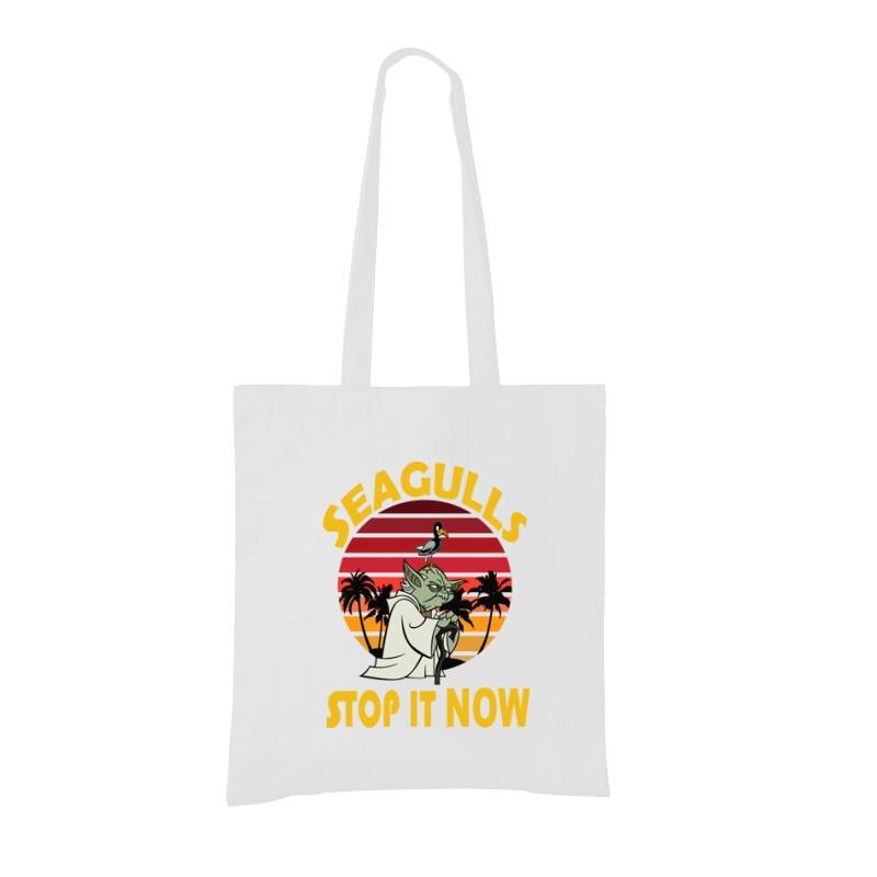 Seagulls Stop  It Now Bevásárló táska