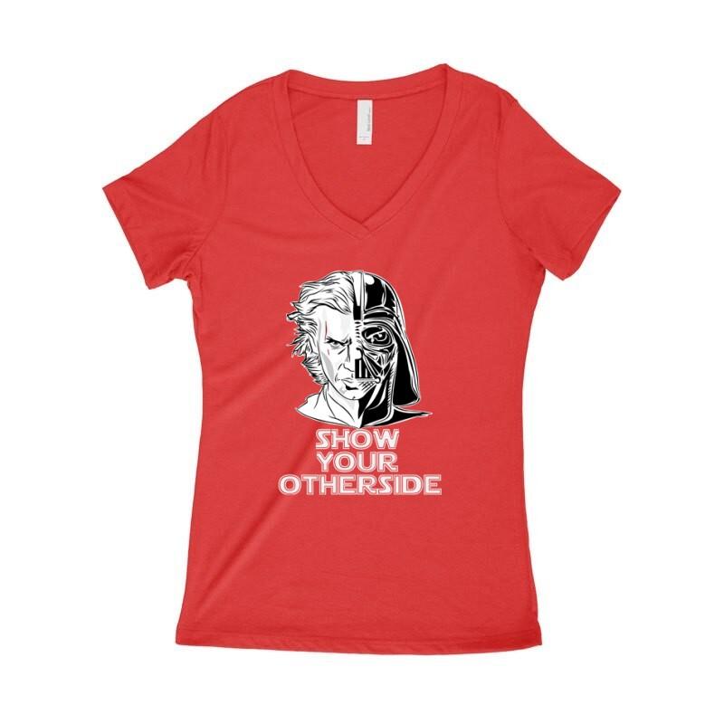 Show Your Otherside Női póló V kivágott