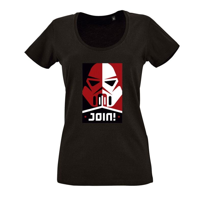 Stromtrooper Join O nyakú női póló