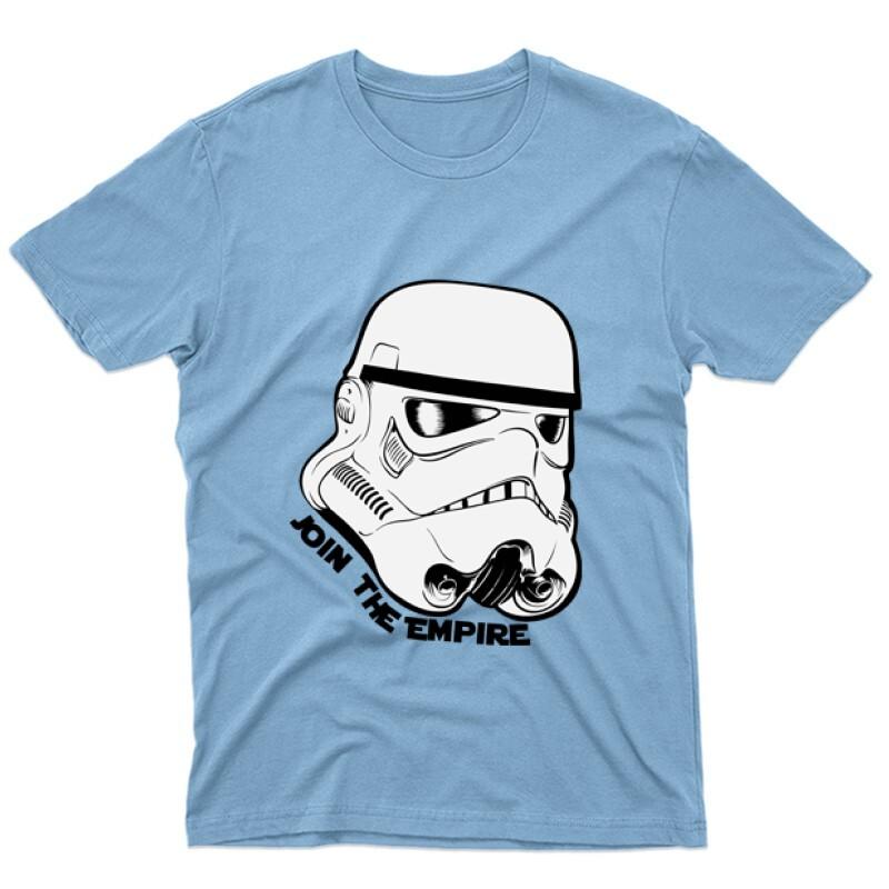Stormtrooper face Férfi póló