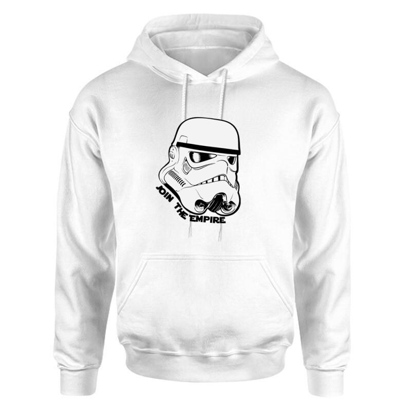 Stormtrooper face Unisex pulóver