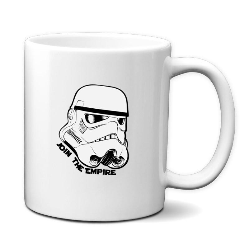 Stormtrooper face Bögre