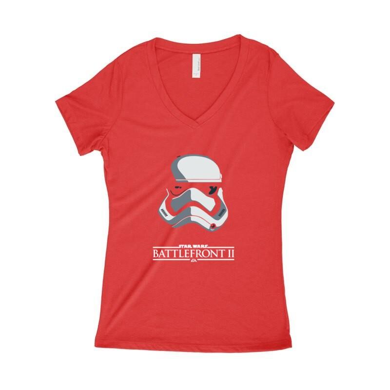 Battlefront II Női póló V kivágott