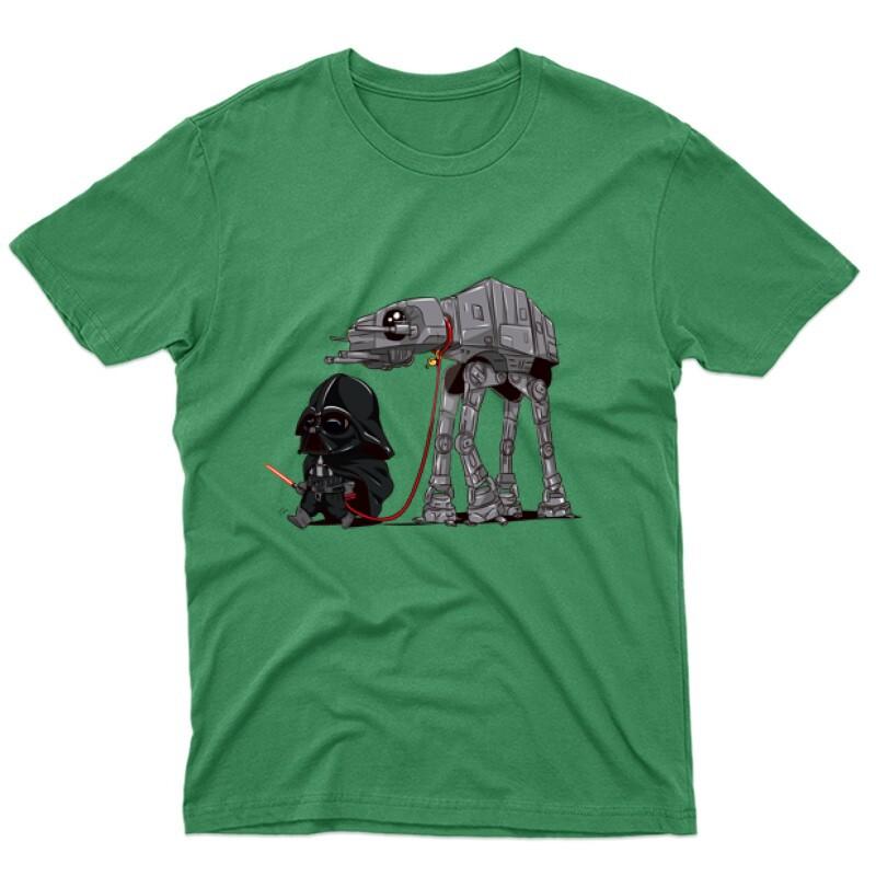 Vader and AT-AT Férfi póló