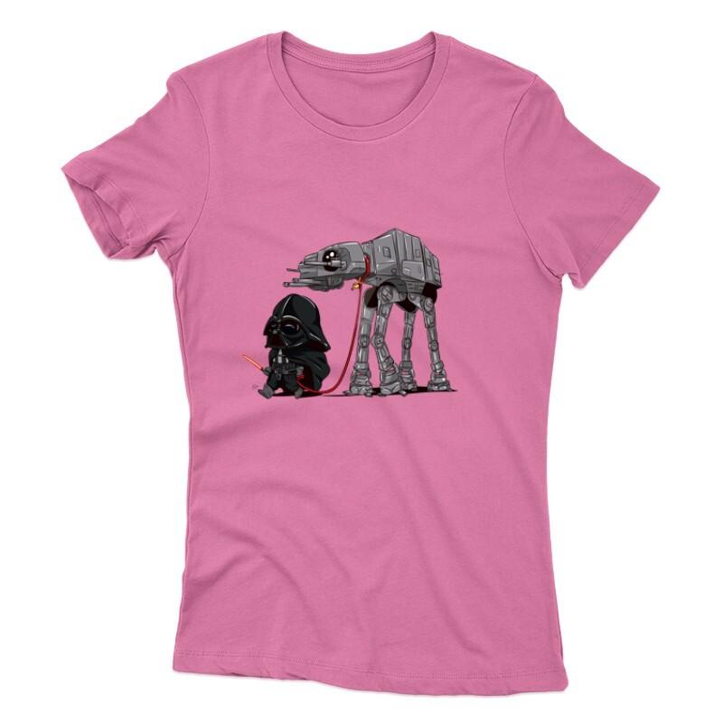 Vader and AT-AT Női póló