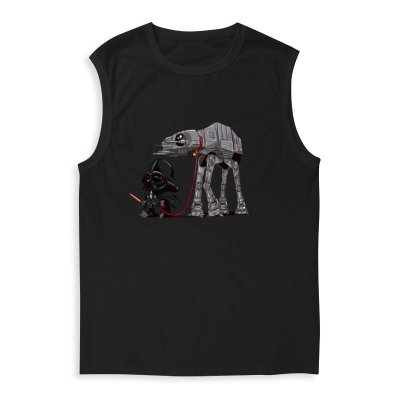 Vader and AT-AT Férfi Trikó