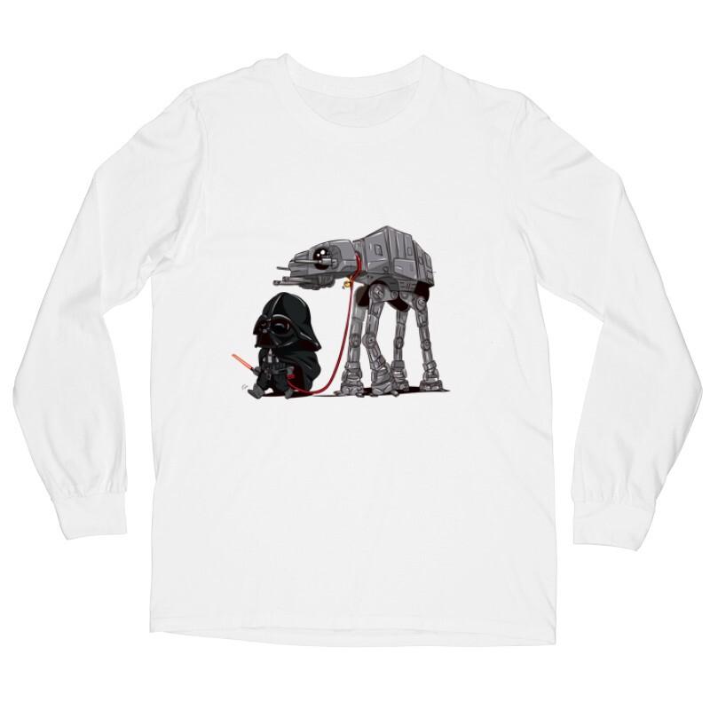 Vader and AT-AT Hosszú ujjú póló