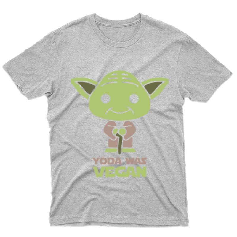 Yoda was vegan Férfi póló