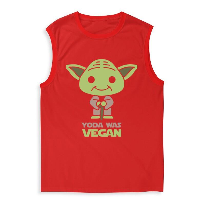 Yoda was vegan Férfi Trikó