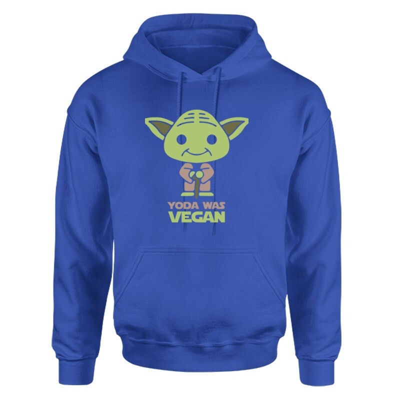 Yoda was vegan Unisex pulóver