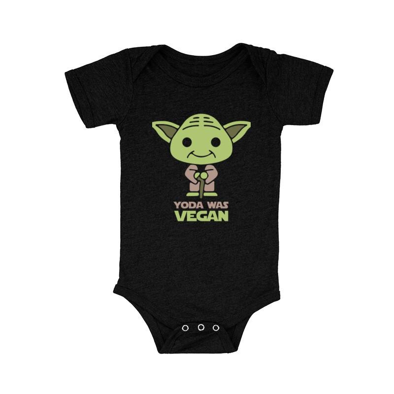 Yoda was vegan Bébi body