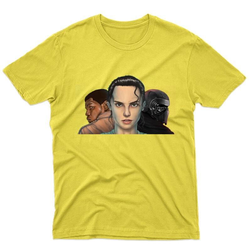 3 Face Férfi póló