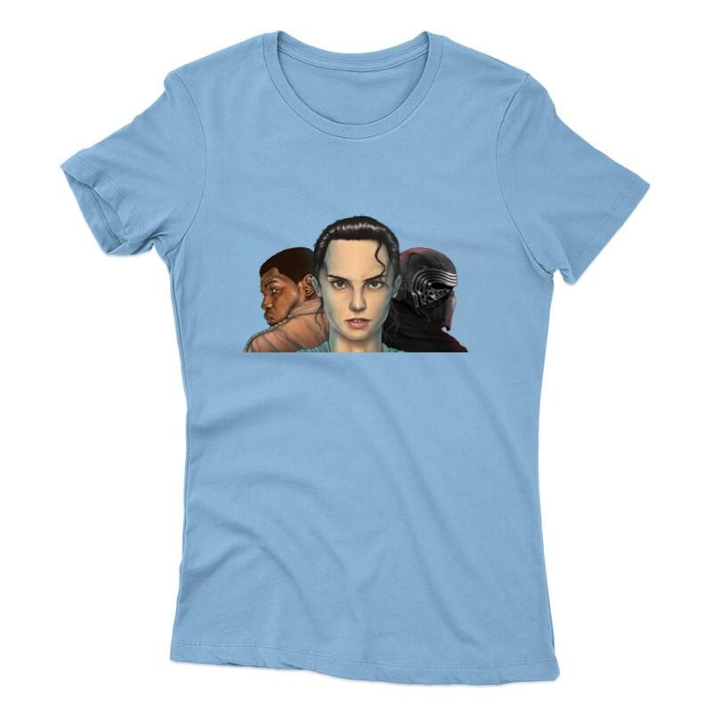 3 Face Női póló