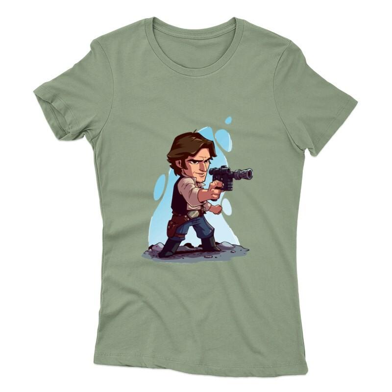 Han Solo Női póló