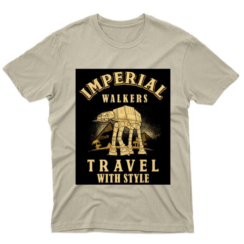 Imperial Walkers Férfi póló