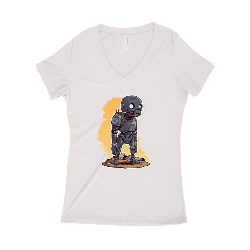 K2SO Női póló V kivágott