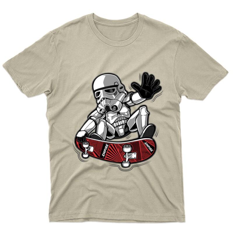 Trooper trick Férfi póló