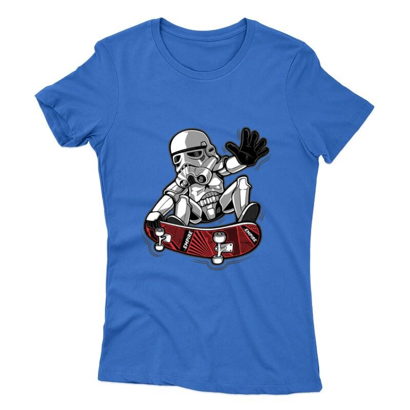 Trooper trick Női póló