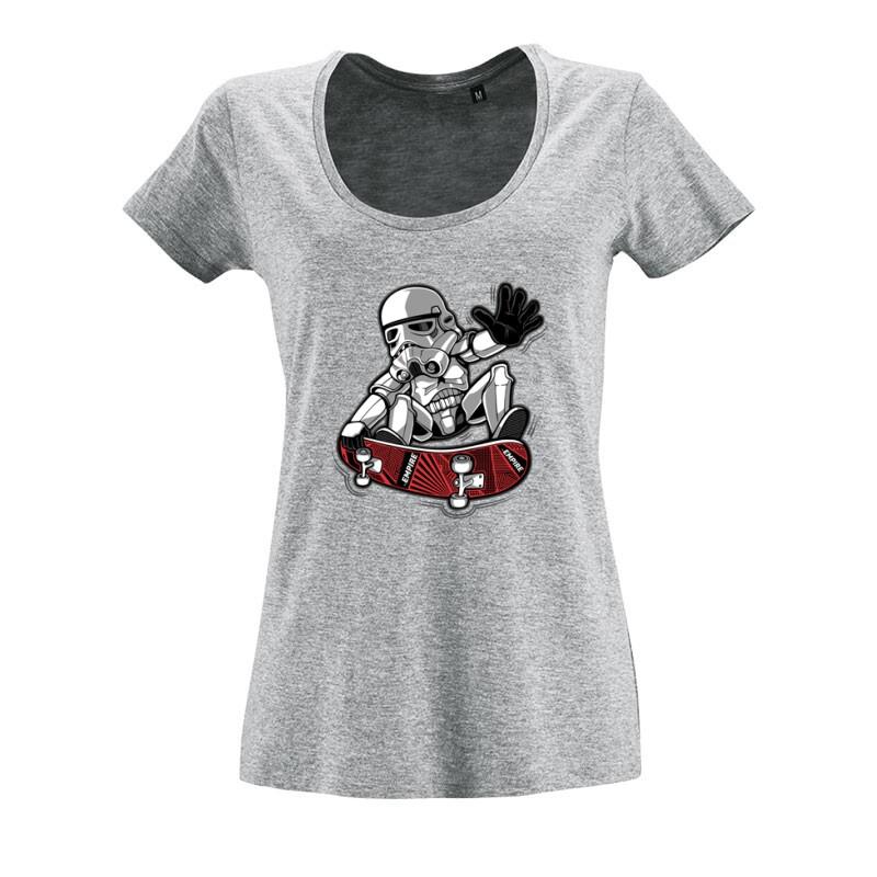 Trooper trick O nyakú női póló