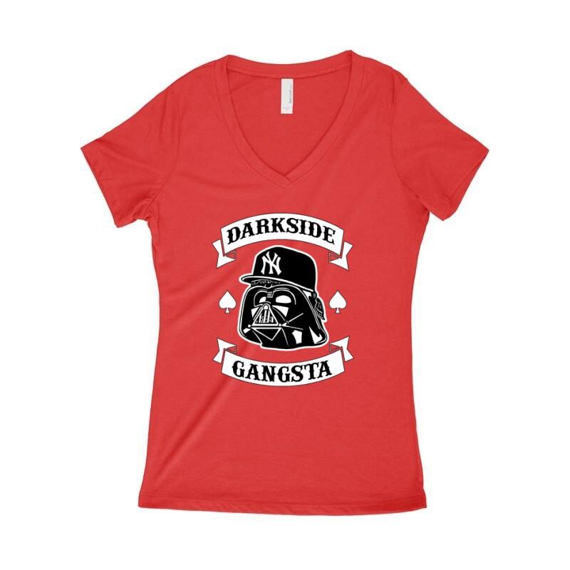 Darkside Gangsta Női póló V kivágott