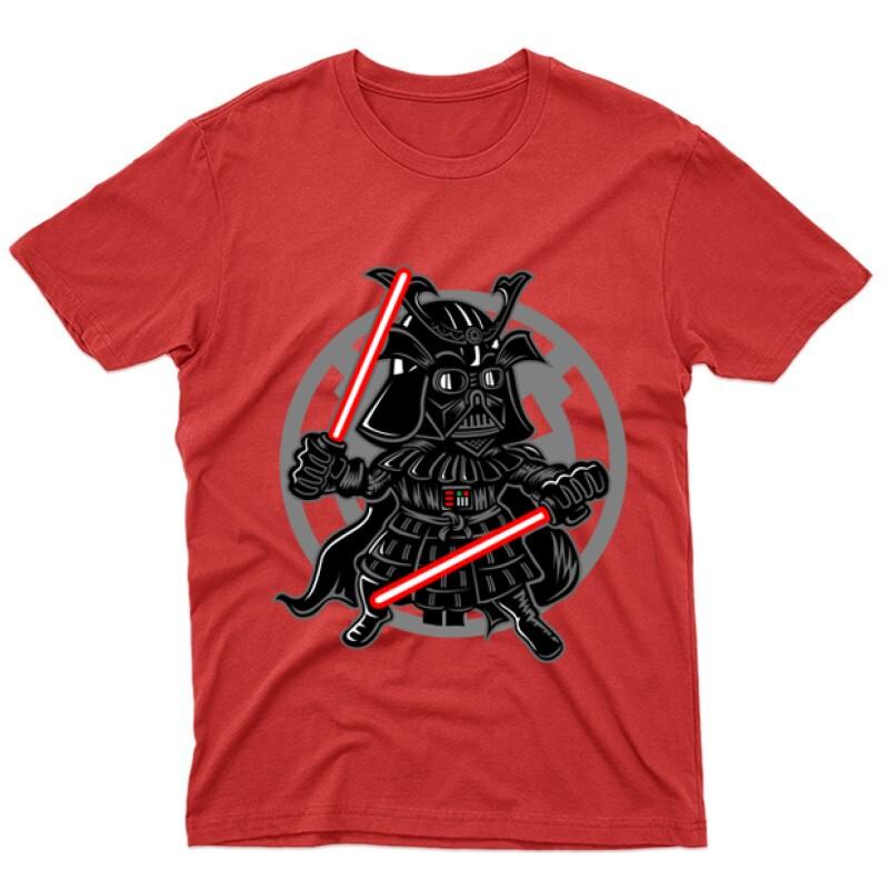 Darkside Samurai Férfi póló