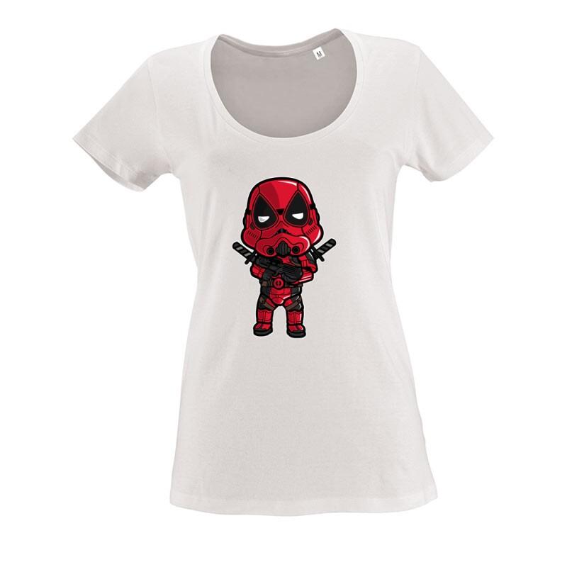 Deadtrooper O nyakú női póló